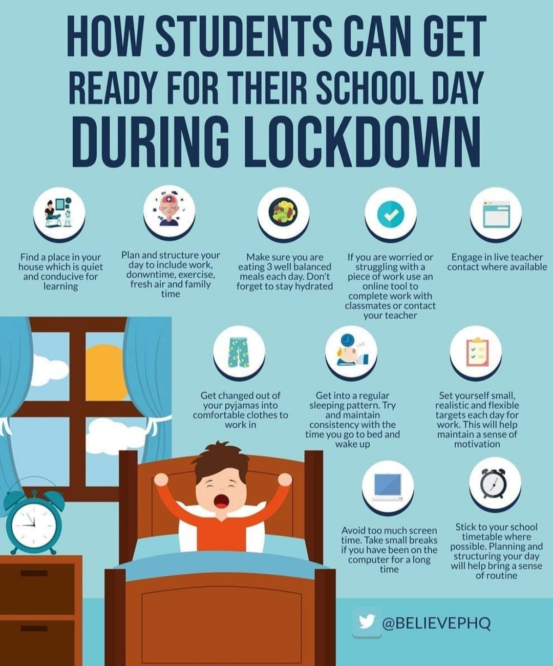 How Students Can Get Ready For Their School Day